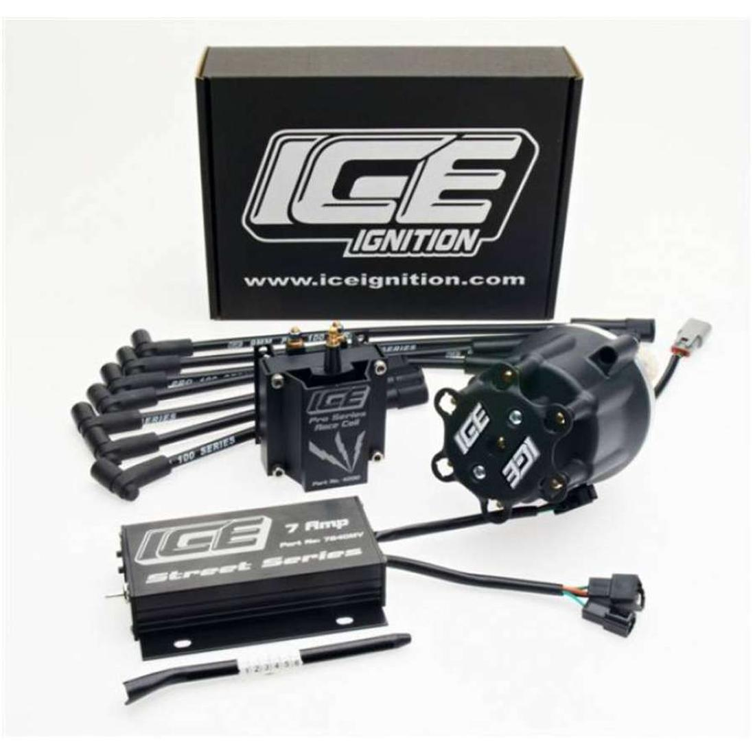 Ice Ignition 7 AMP Digital Street Ignition Kit Chev SBC 283 350 400 V8 Engine image