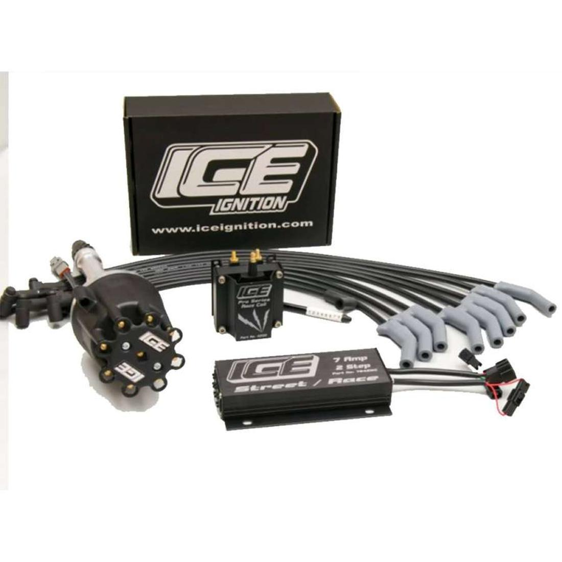 Ice Ignition 7 AMP Digital Street / Race 2 Step Ignition Kit Holden 253 308 355 383 V8 image