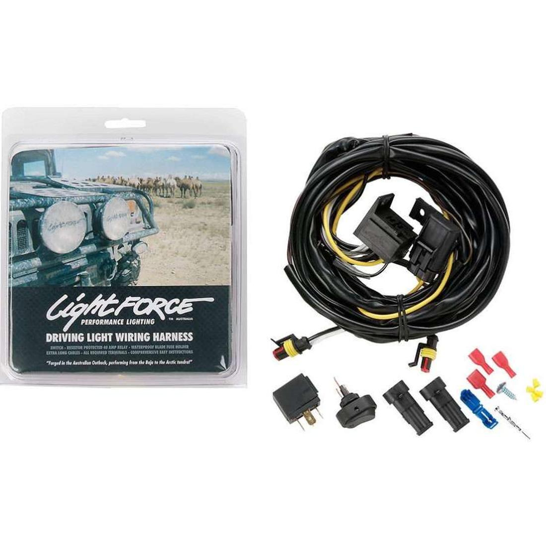 Lightforce 24V Driving Light Wiring Kit/Harness image