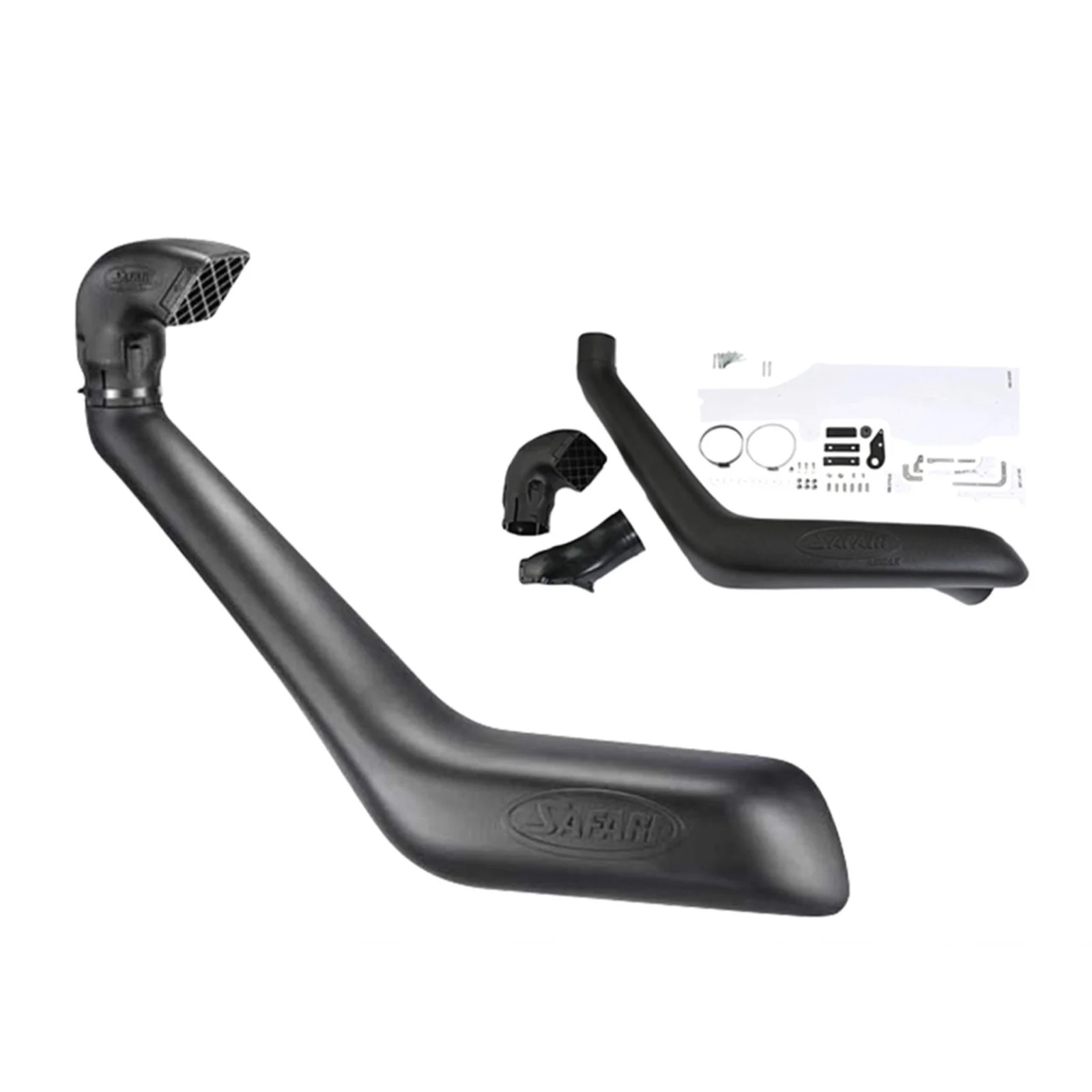 SAFARI SNORKEL ARMAX TOYOTA HILUX 1KD-FTV 3.0L TURBO DIESEL 10/11 ONWARDS SS122HP image