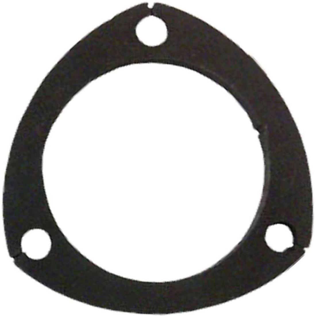"Universal 3 Bolt 3 1/2"" Exhaust Laser Cut Flange Plate image"