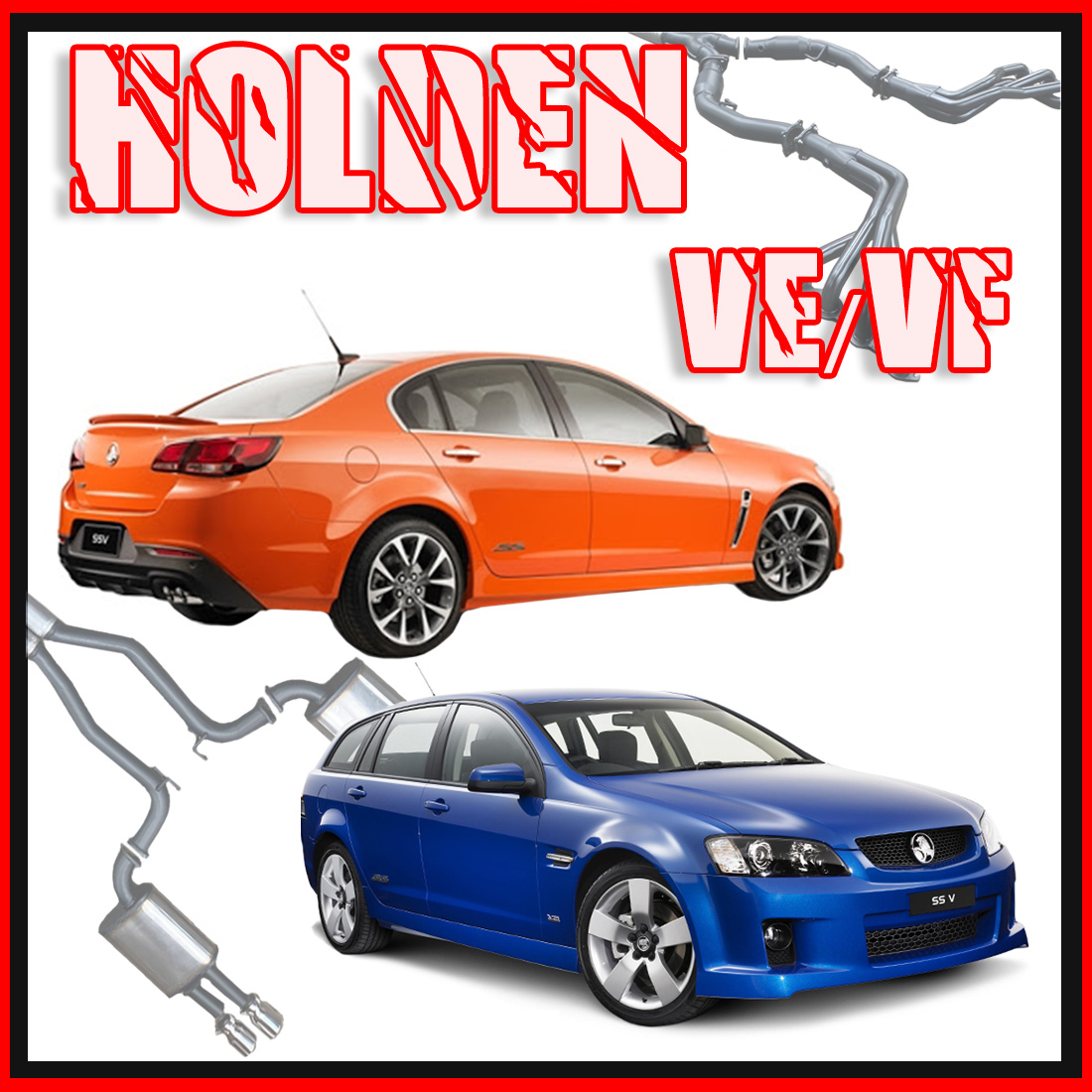 Holden Commodore VE/VF Sedan & Wagon Performance Exhaust image