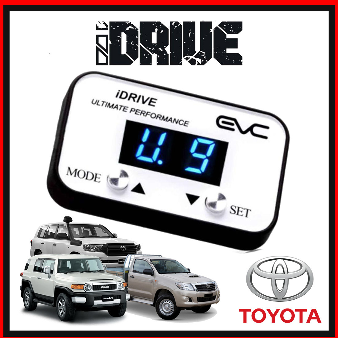 iDrive Windbooster Throttle Controller (Toyota) image
