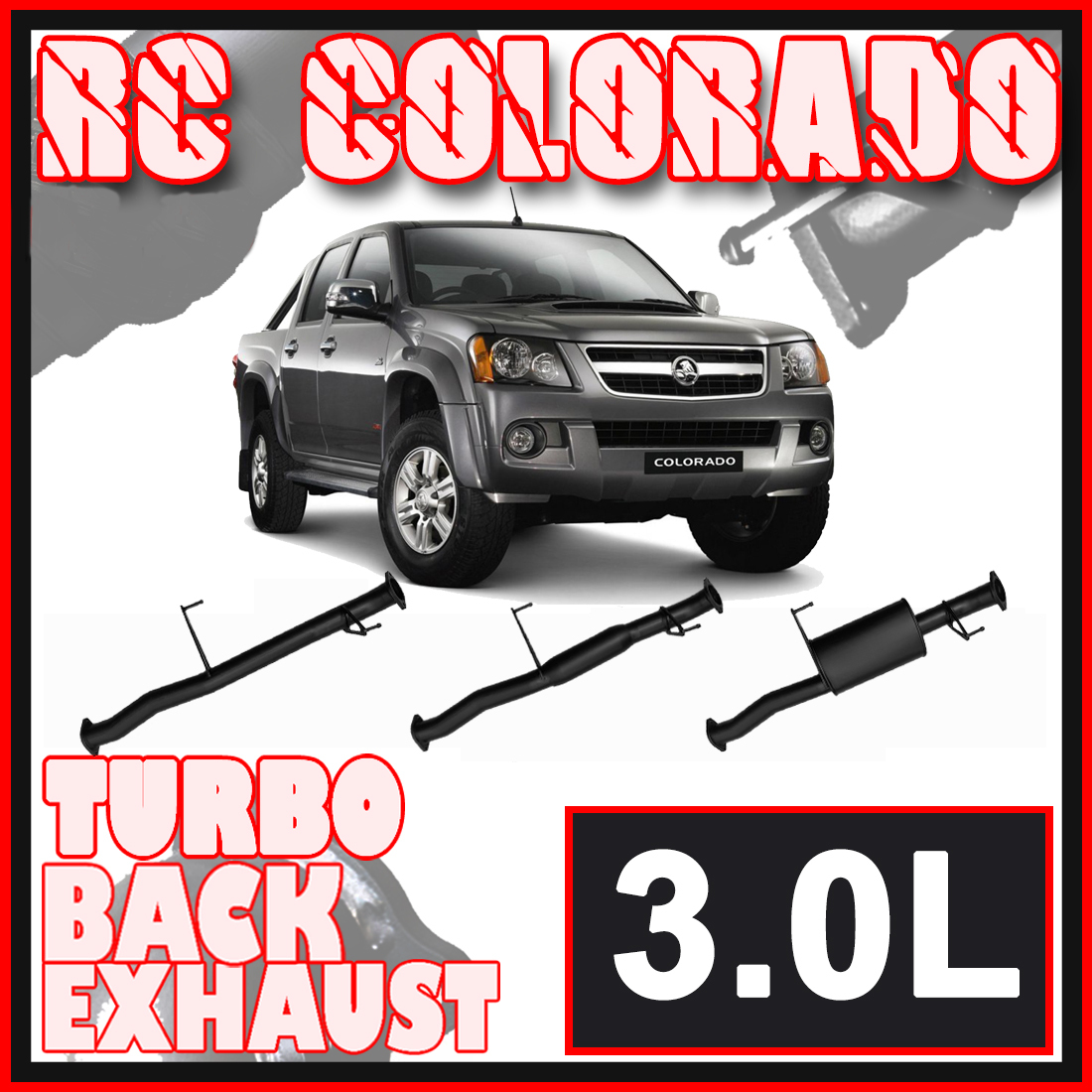 Holden Colorado RC 3L 2007 - 2012 Ignite Exhaust image